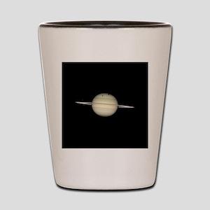 Saturn 4 Moons in Transit Shot Glass