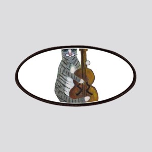 Tabby Cat cello player Patches