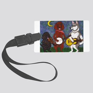 Country Dogs Large Luggage Tag