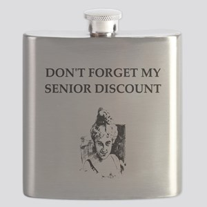 funny senior citizen discount joke Flask