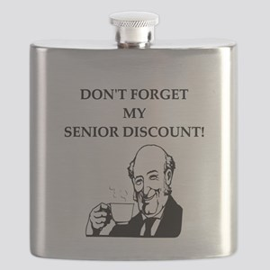 funny senior citizen discount joke Flask