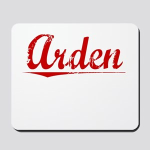 Arden, Vintage Red Mousepad