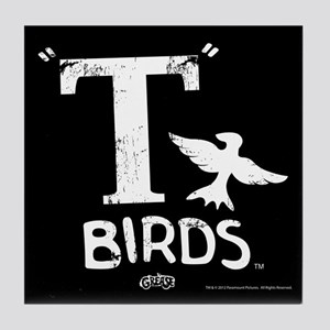 T Birds Tile Coaster