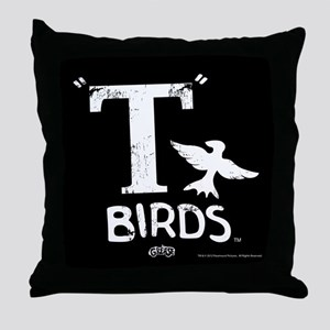 T Birds Throw Pillow