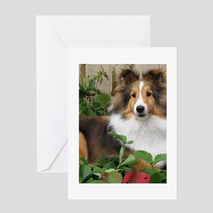Strawberry Patch Greeting Card