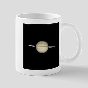 Saturn 4 Moons in Transit Mugs