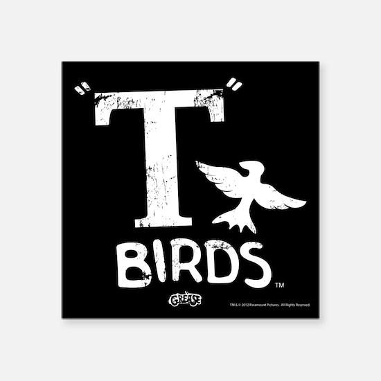 """T Birds Square Sticker 3"""" x 3"""""""