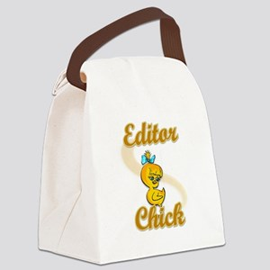 Editor Chick #2 Canvas Lunch Bag