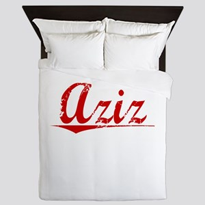 Aziz, Vintage Red Queen Duvet