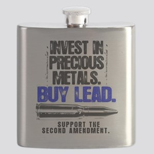 INVEST LEAD BULLETS Flask