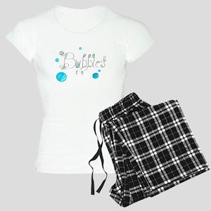 Bubbles 1 Women's Light Pajamas
