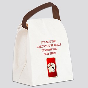 CARDS Canvas Lunch Bag