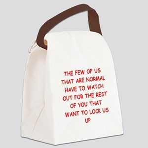 paranoid gifts t-shirts Canvas Lunch Bag