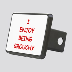 GROUCHY Rectangular Hitch Cover