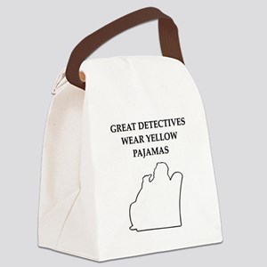 NERO WOLFE GIFTS T-SHIRTS Canvas Lunch Bag