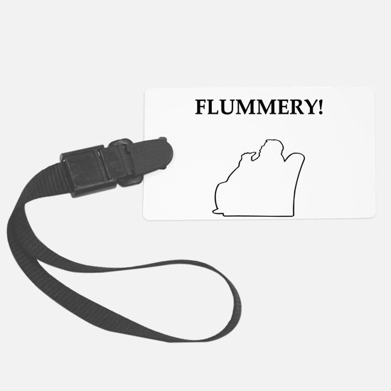 nero wolfe flummery gifts t-shirts Luggage Tag