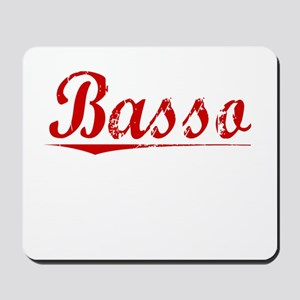 Basso, Vintage Red Mousepad
