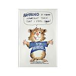 Cartoon Hamster Rectangle Magnet (10 pack)