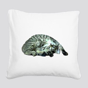 Abby Square Canvas Pillow