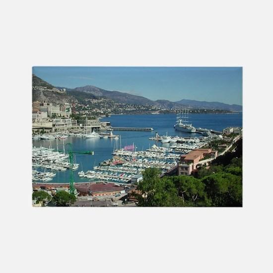 Monaco 1 Rectangle Magnet