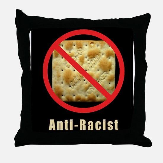 Anti-Racist Throw Pillow