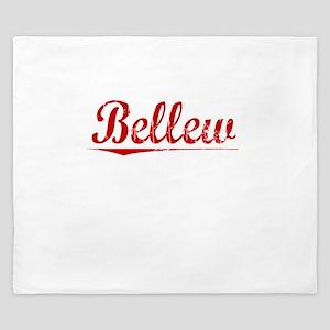 Bellew, Vintage Red King Duvet