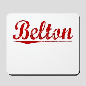 Belton, Vintage Red Mousepad