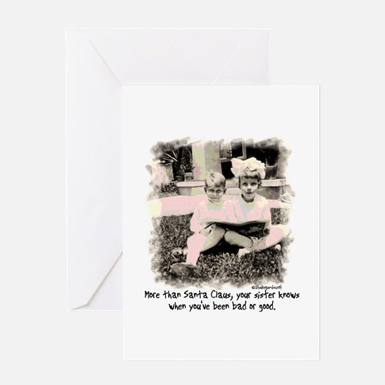 A Sister Knows Greeting Card