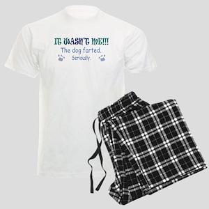 DOG Farted Men's Light Pajamas