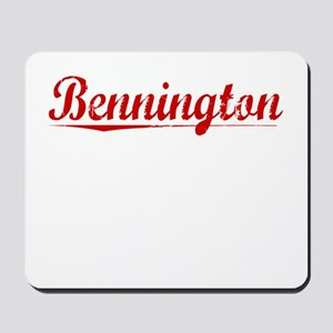 Bennington, Vintage Red Mousepad