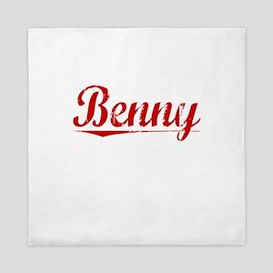 Benny, Vintage Red Queen Duvet