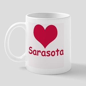Heart Sarasota Right-handed Mug