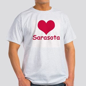 Heart Sarasota Ash Grey T-Shirt