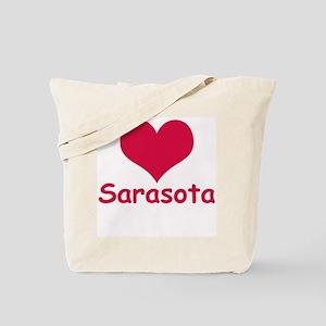 Heart Sarasota Tote Bag