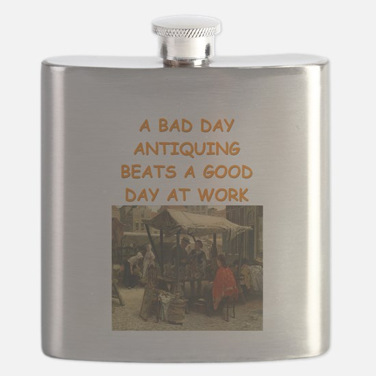 ANTIQUE collector Flask