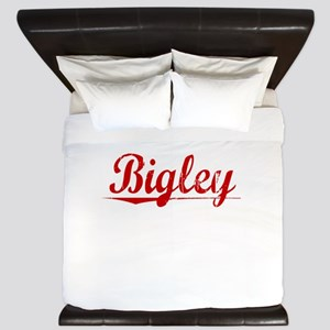 Bigley, Vintage Red King Duvet