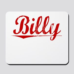 Billy, Vintage Red Mousepad