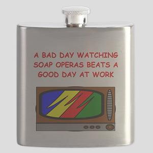 funny soap opera television tv joke Flask