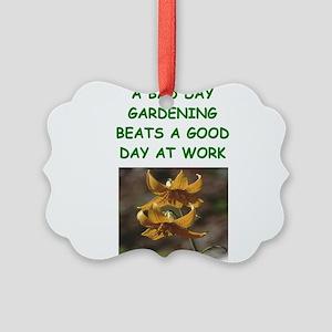 funny garden, gardener gardening joke Picture Orna