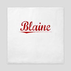 Blaine, Vintage Red Queen Duvet