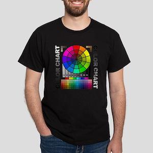 Color chart Dark T-Shirt