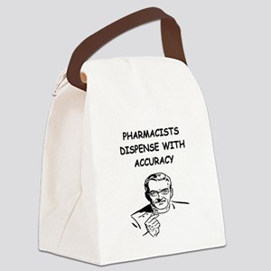 PHARMACIST joke gifts t-shirts Canvas Lunch Bag