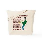 Trumpeters Fury Tote Bag