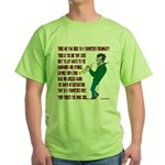 Trumpeters Fury Green T-Shirt