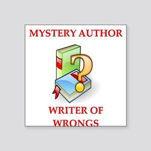 """writer2.png Square Sticker 3"""" x 3"""""""