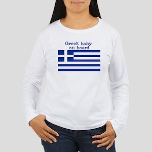 greek Long Sleeve T-Shirt Long Sleeve T-Shirt Long