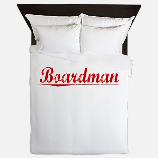 Boardman, Vintage Red Queen Duvet