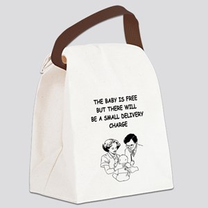 DELIVERY Canvas Lunch Bag