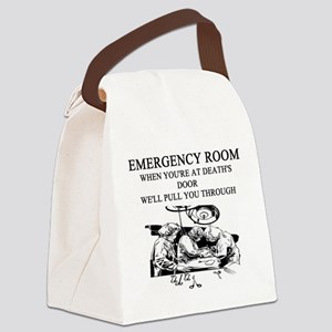 emergency room doctor joke gifts t-shirts Canvas L