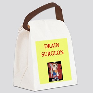 PLUMBER Canvas Lunch Bag
